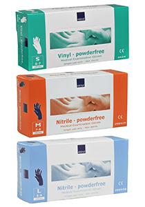 Abena vinyl handschoenen poedervrij wit 100 stuks Maat: L