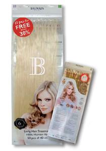 Balmain hair fill-in extensions 40 cm 50 stuks L8