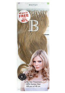 Balmain hair fill-in extensions 40 cm 100 stuks Level 8-27
